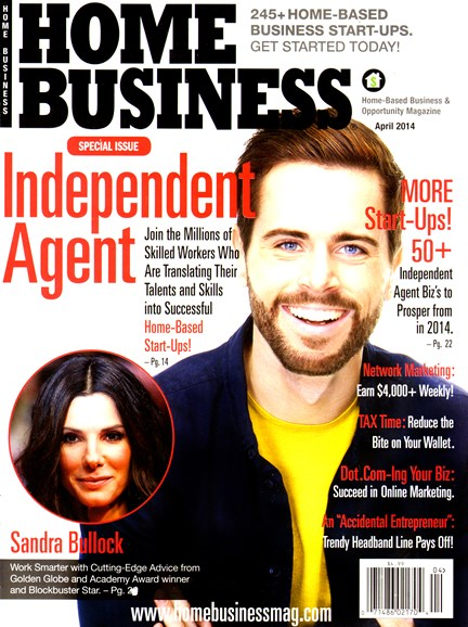 Home Business Magazine Cover - 4/1/2014
