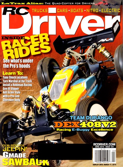 RC Driver Cover - 4/1/2014