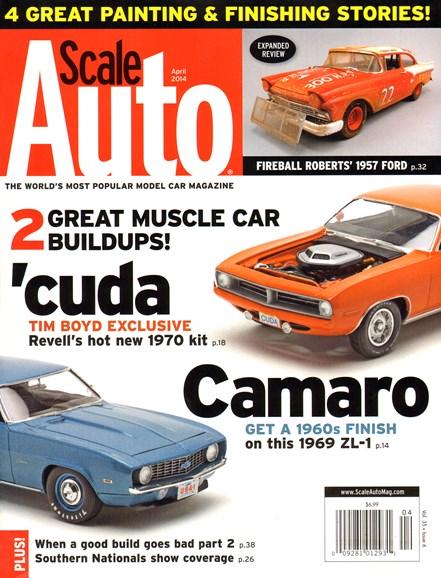 Scale Auto Magazine Cover - 4/1/2014