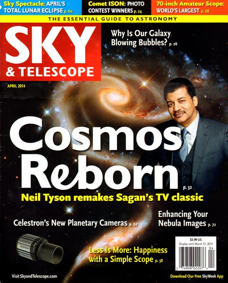Sky & Telescope Cover - 4/1/2014