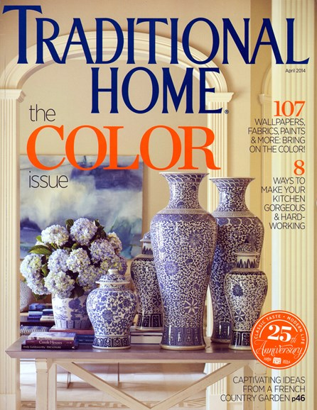 Traditional Home Cover - 4/1/2014