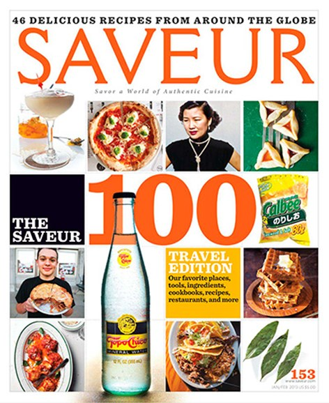 Saveur Cover - 1/1/2014