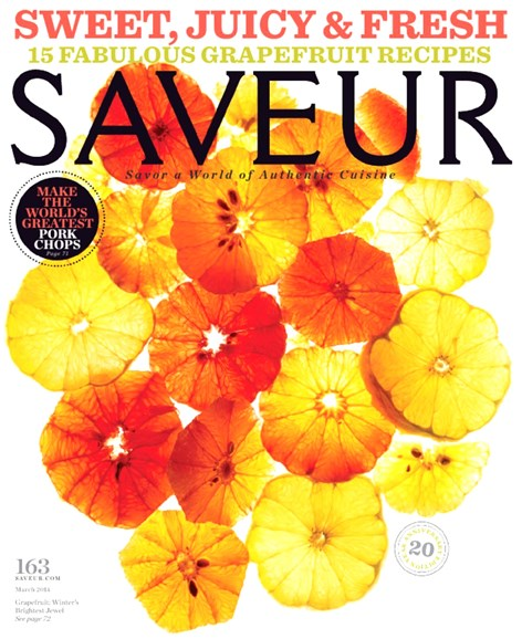 Saveur Cover - 3/1/2014