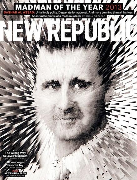 The New Republic Cover - 12/30/2013