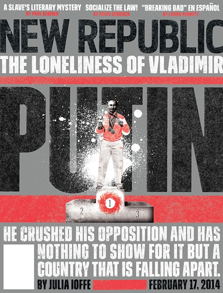 The New Republic Cover - 2/17/2014