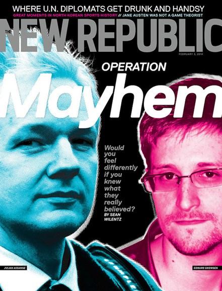 The New Republic Cover - 2/3/2014