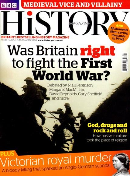 BBC History Cover - 2/1/2014