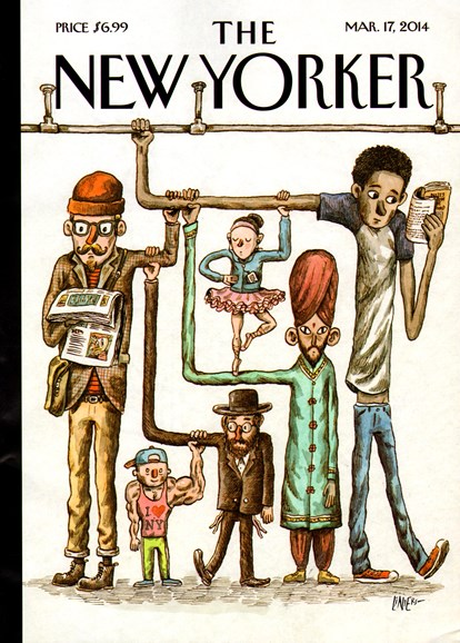 The New Yorker Cover - 3/17/2014