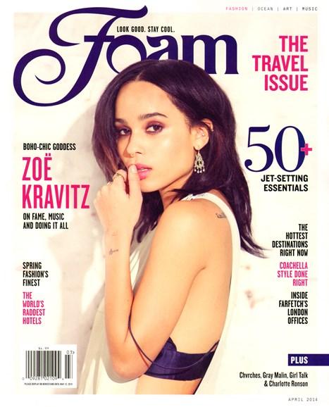 FOAM Cover - 4/1/2014