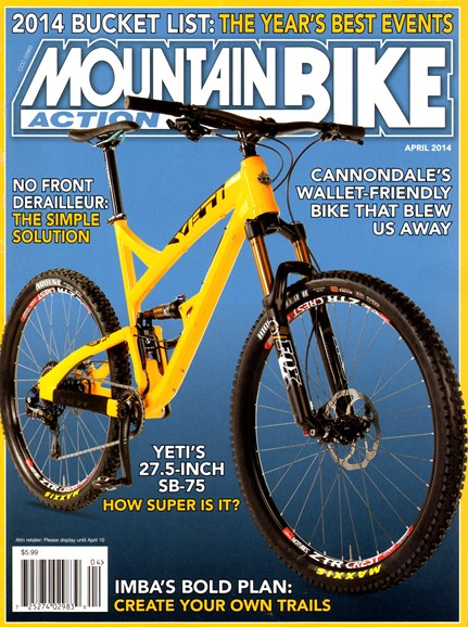 Mountain Bike Action Cover - 4/1/2014