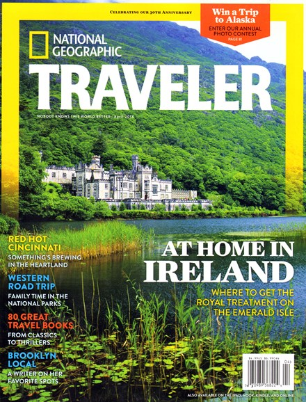 National Geographic Traveler Cover - 4/1/2014