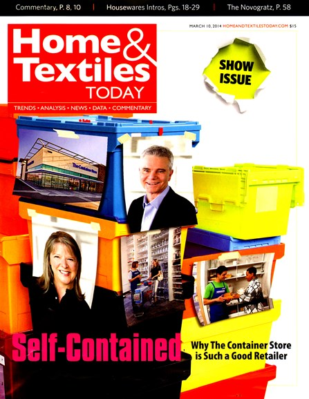 Home & Textiles Today Cover - 3/10/2014