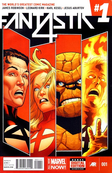 Fantastic Four Cover - 4/1/2014