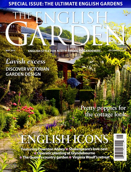 The English Garden Cover - 4/1/2014