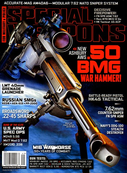Special Weapons for Military & Police Cover - 4/1/2014