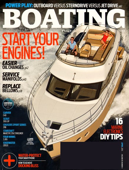 Boating Cover - 4/1/2014