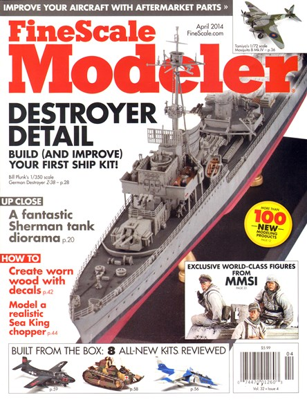 Finescale Modeler Cover - 4/1/2014
