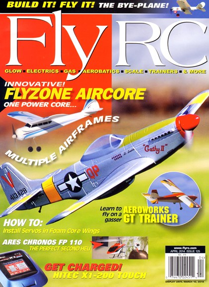 Fly RC Cover - 4/1/2014