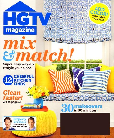 HGTV Cover - 4/1/2014