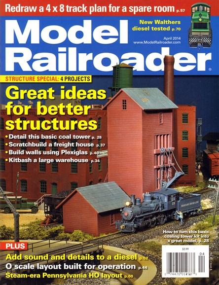 Model Railroader Cover - 4/1/2014