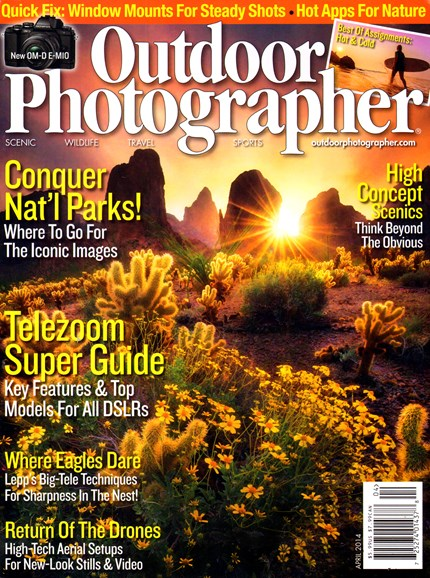 Outdoor Photographer Cover - 4/1/2014