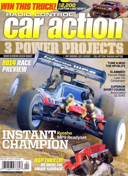 Radio Control Car Action Cover - 4/1/2014
