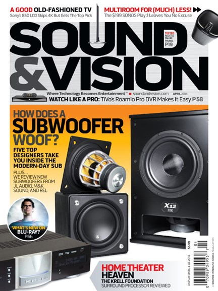 Sound & Vision Cover - 4/1/2014