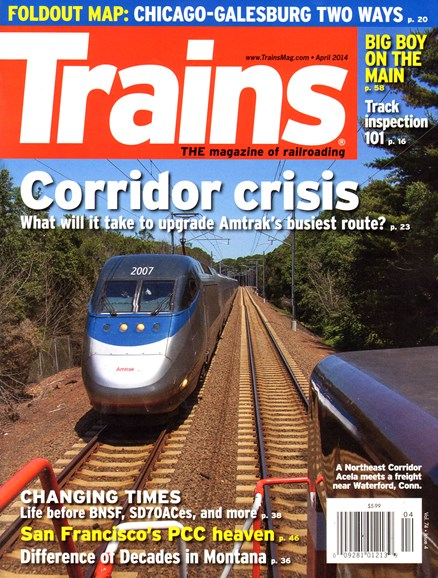 Trains Cover - 4/1/2014