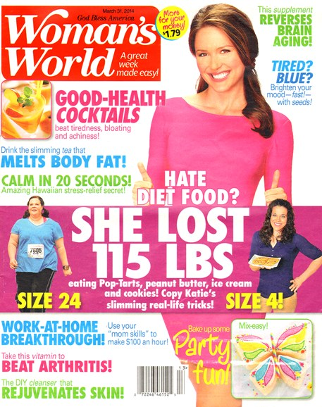 Woman's World Cover - 3/31/2014