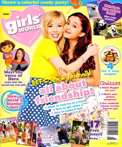 Girls' World Cover - 6/1/2014