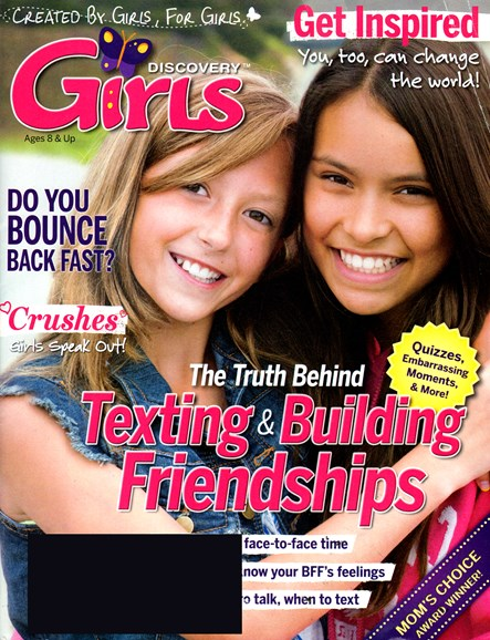 Discovery Girls Cover - 2/1/2014