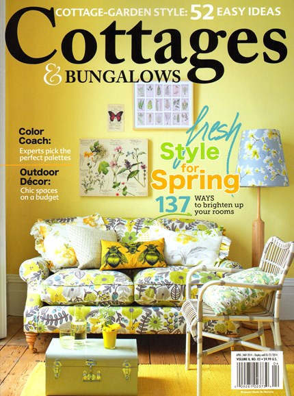 Cottages & Bungalows Cover - 4/1/2014