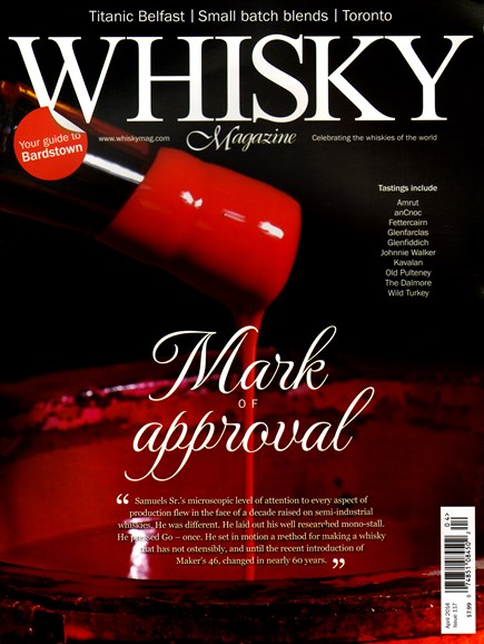 Whisky Cover - 4/1/2014