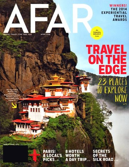 AFAR Cover - 3/1/2014