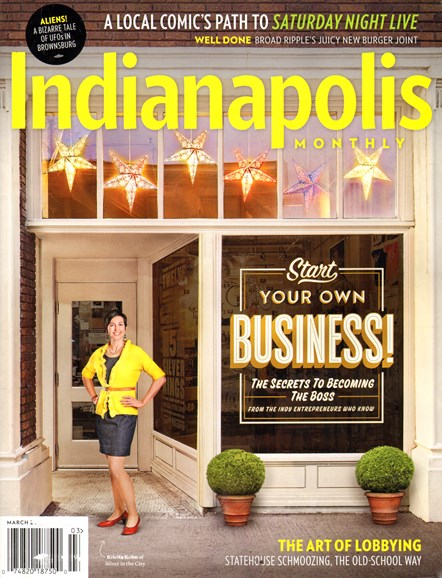 Indianapolis Monthly Cover - 3/1/2014