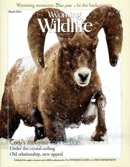 Wyoming Wildlife Cover - 3/1/2014