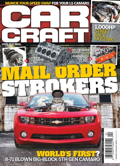 Car Craft Cover - 4/1/2014