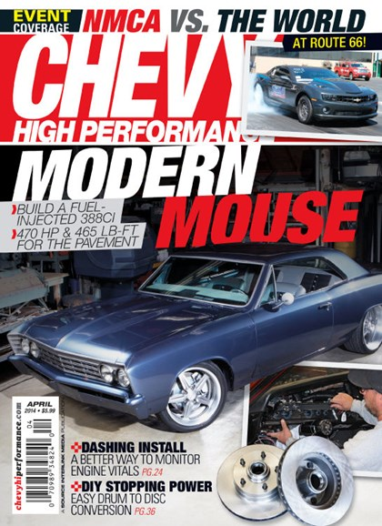 Chevy High Performance Cover - 4/1/2014