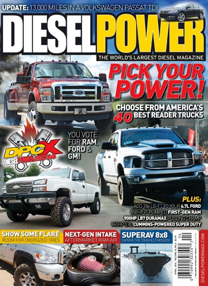 Diesel Power Cover - 4/1/2014