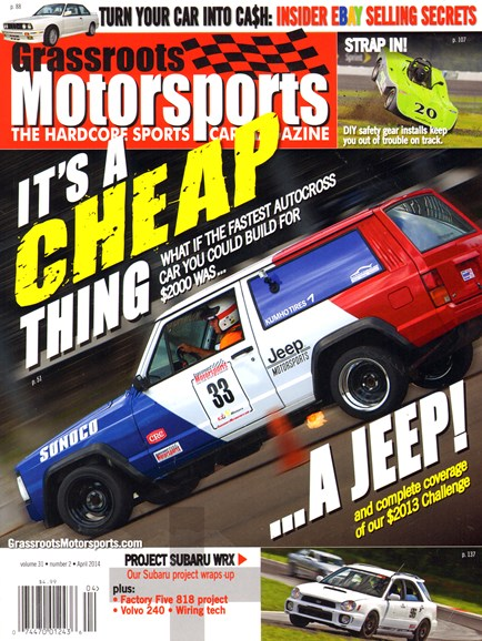 Grassroots Motorsports Cover - 4/1/2014