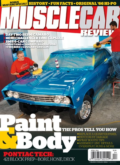 Muscle Car Review Cover - 4/1/2014