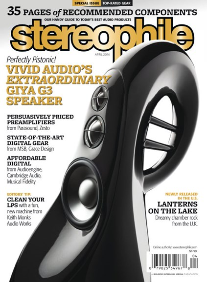 Stereophile Cover - 4/1/2014