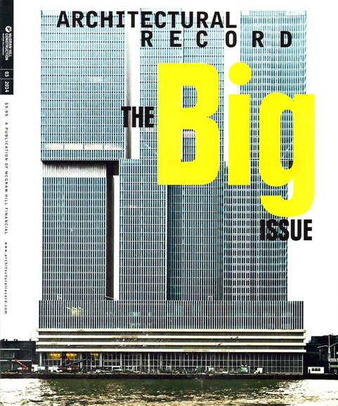 Architectural Record Cover - 3/1/2014