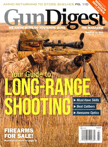 Gun Digest Cover - 3/27/2014