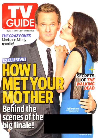 TV Guide Cover - 3/24/2014