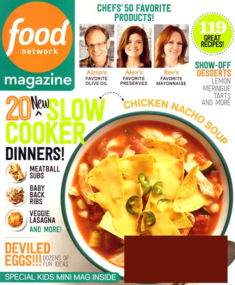 Food Network Cover - 4/1/2014
