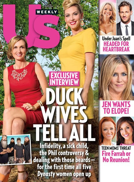 Us Weekly Cover - 3/31/2014