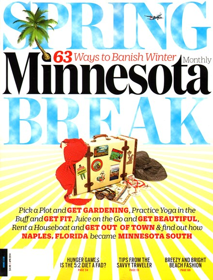 Minnesota Monthly Cover - 4/1/2014