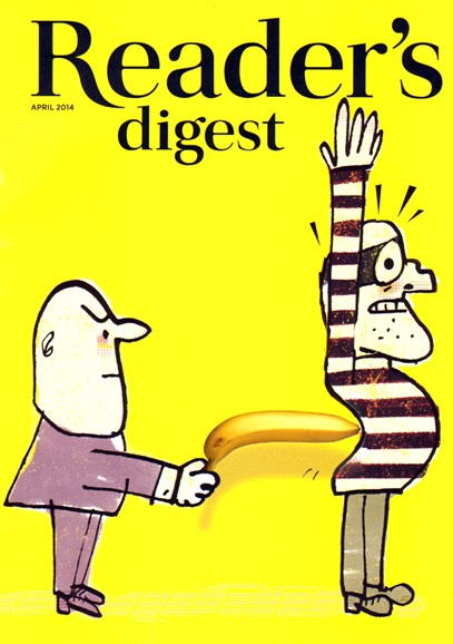 Reader's Digest Cover - 4/1/2014