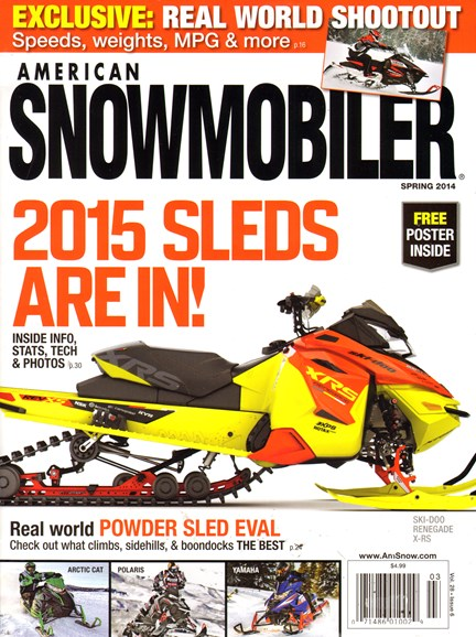 American Snowmobiler Cover - 3/1/2014